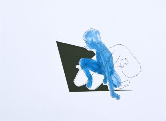 manuela krug - Manuela-Krug_collage-2 Figuren blau II