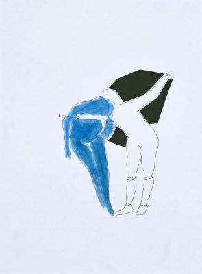 manuela krug - Manuela-Krug_collage-2 Figuren blauI
