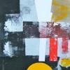 o.t., 2010 acryl auf malpappe, 30 x 60 cm