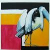 o.t., 2012 acryl auf malpappe, 60 x 60 cm